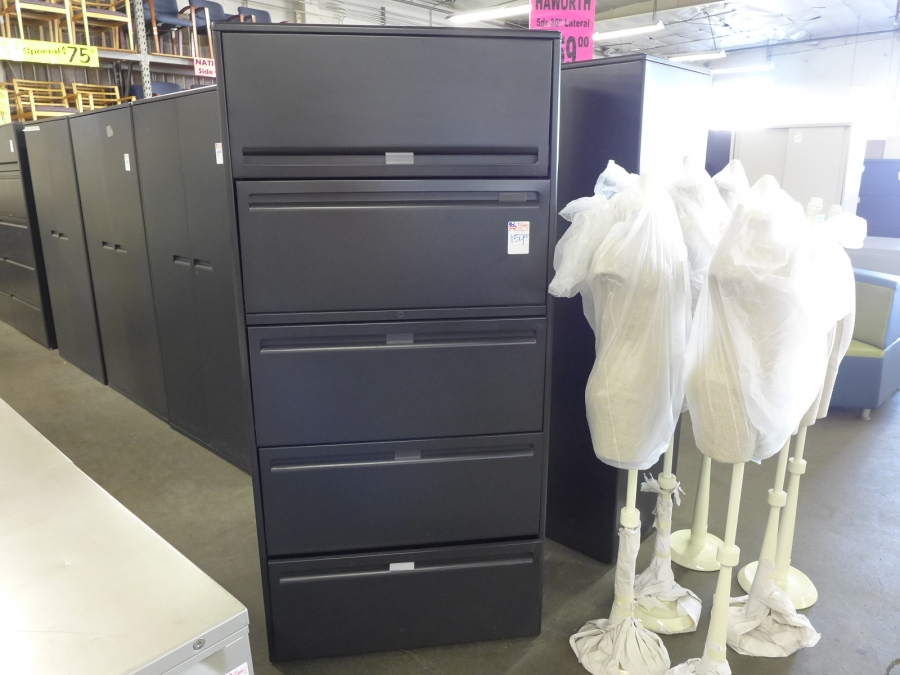 Haworth 5 Dr. 30  Lateral File Cabinets BLOWOUT SALE $159.00 - TR Trading Company & Haworth 5 Dr. 30